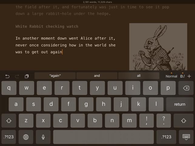Matcha Word Processor: Create Document & Take Note Screenshot