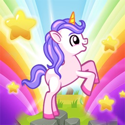 My pretty Pony Run in candy world