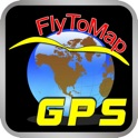 FlyToMap All in One GPS maps marine lakes parks icon