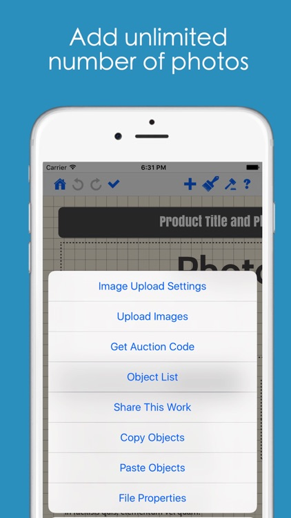 Auction Listing Designer screenshot-3