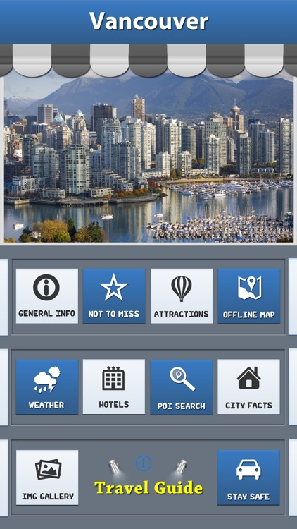 Vancouver City Map Guide