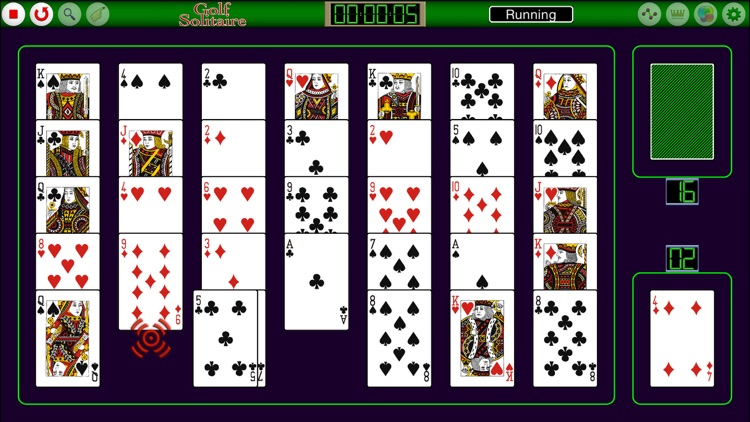 Golf Solitaire FVD