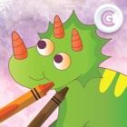 Cute Coloring HD - jeux de dinosaures gratuit icon