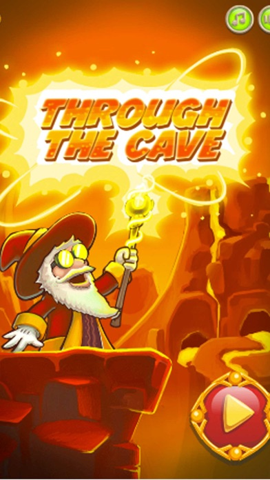Through the cave - most fun match 3 puzzle games Screenshot on iOS