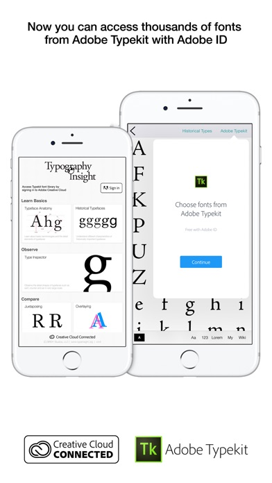 Typography Insight for iPhone-0