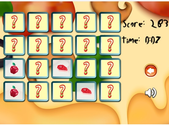 Food Match Game : find the pair matching games | App Price