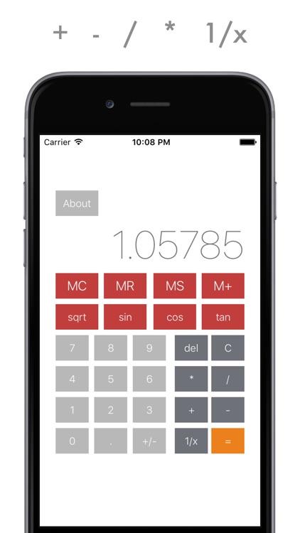 Ultra Calc - power calculator for everyday usage screenshot-4