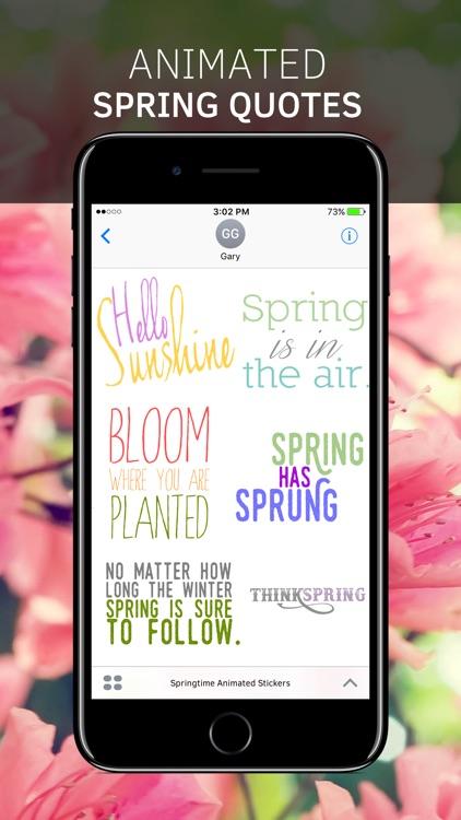 Springtime Animated Stickers