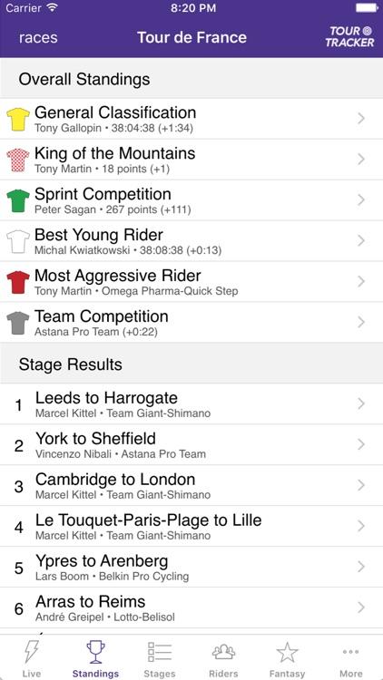 Tour Tracker Vuelta a España Edition 2017 screenshot-3