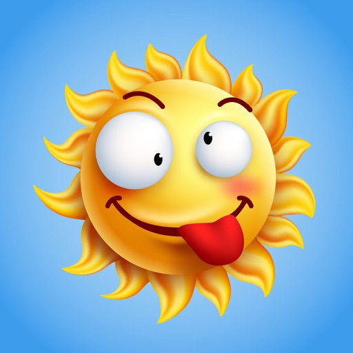 Weathermoji - emoji & stickers for weather update