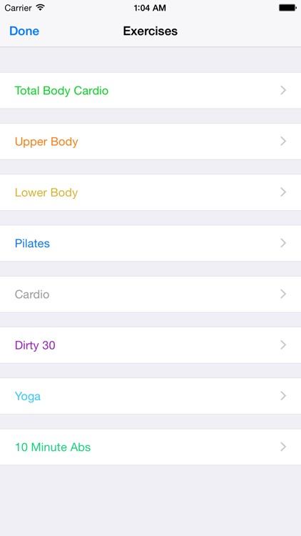 21 Day Fit Tracker - Weight Loss Program screenshot-3