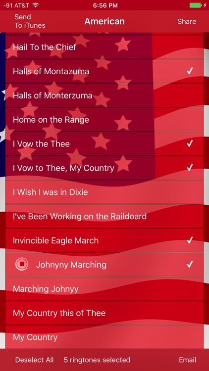 Best American Ringtones and Patriotic Tones screenshot-3