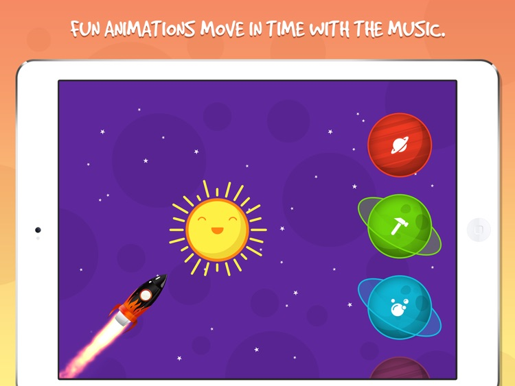 Moon Tunes - Music Player For Kids screenshot-3