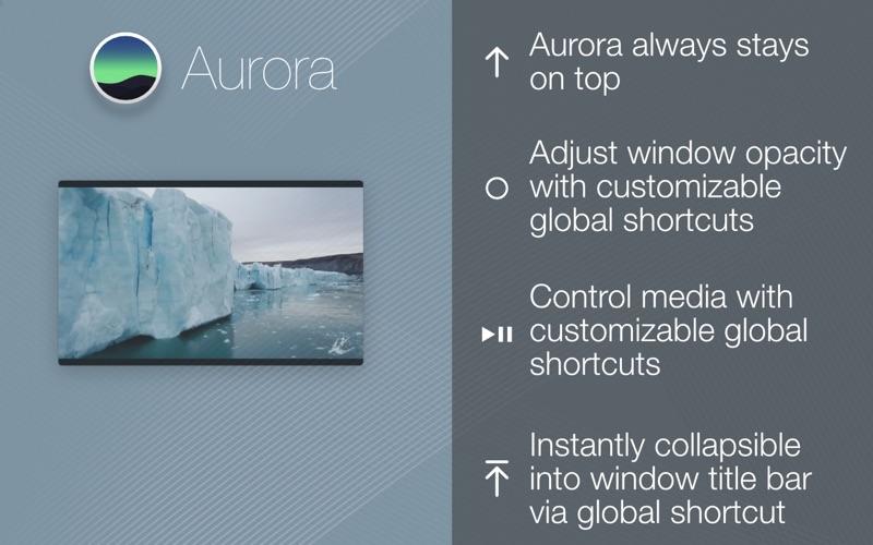 Aurora Browser скриншот программы 1