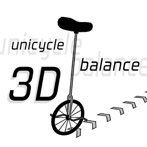 Unicycle Balance 3D icon