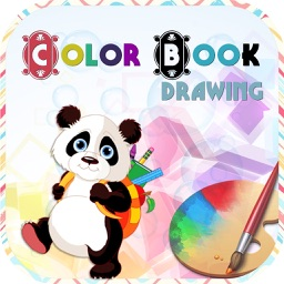 Coloring Book - painting and drawing page for kids