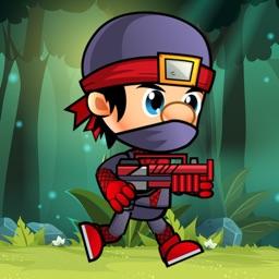 Ninja Soldier Run - Endless Jungle Adventure