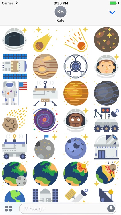 Astronomy Stickers - Space Emojis for Messages