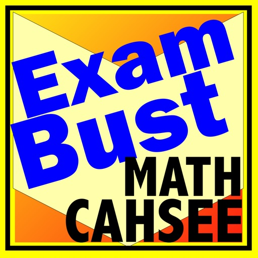 CAHSEE Exit Math Prep Flashcards Exambusters