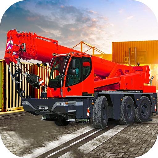 Loader Crane Simulator : Super Challeng-ing drive