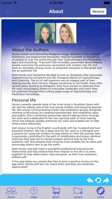 Sleep Well NOW: Mindfulness Meditations for Sleep screenshot three
