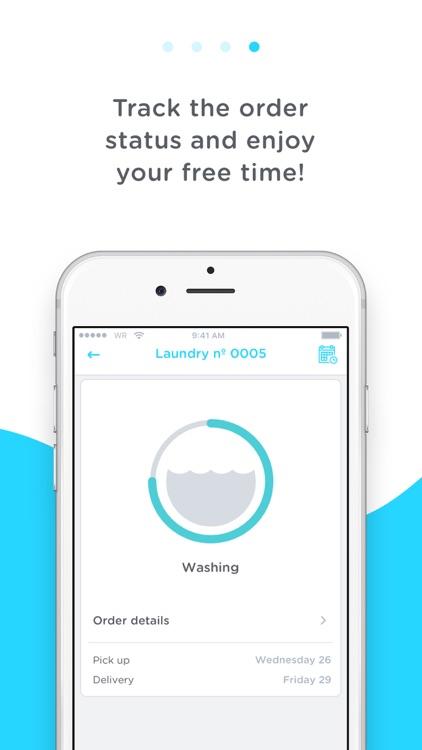 WASHROCKS - Laundry delivery screenshot-3