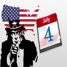 4th of July : Happy Independence Day Stickers