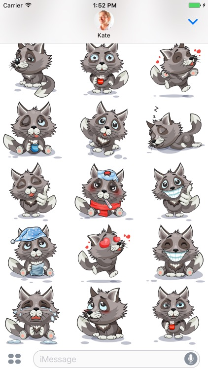 Wolf - Stickers for iMessage