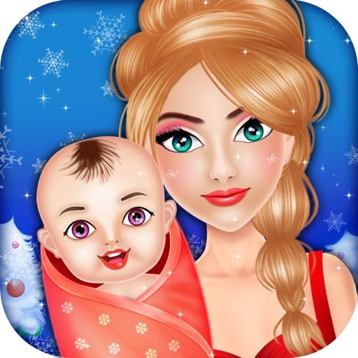 New Christmas Mommy NewBorn Baby - Free kids game