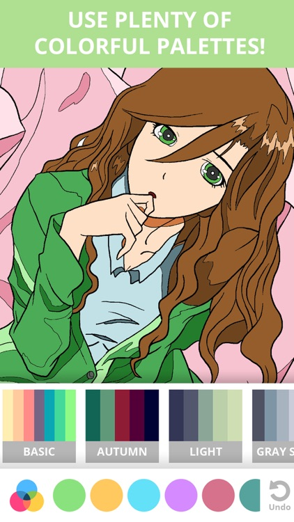 Manga & Anime Coloring Pages for Adults & Kids