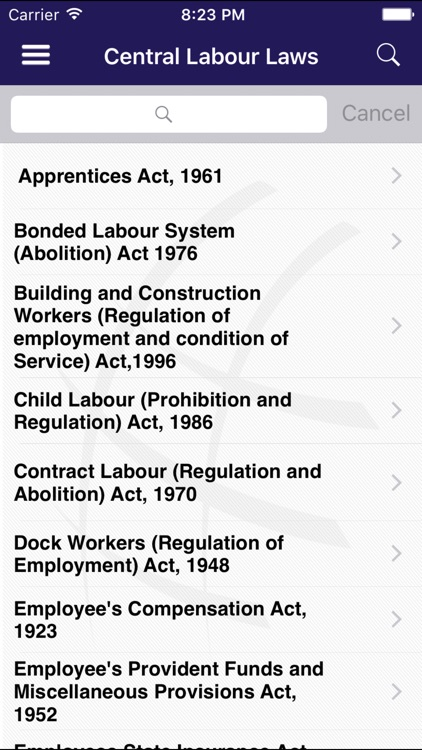 INDIAN LABOUR LAWS screenshot-1