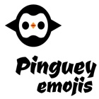 Stickers Pinguey de drop sound icon