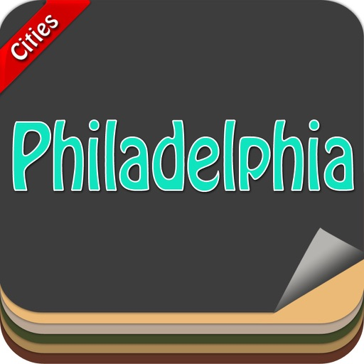 Philadelphia Offline Map Travel Explorer