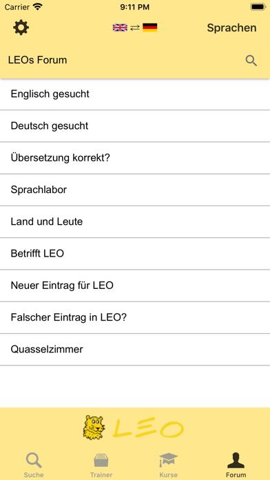 Leo Org Norwegisch