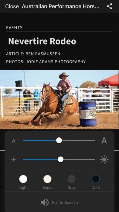 Australian Performance HorseScreenshot of 4