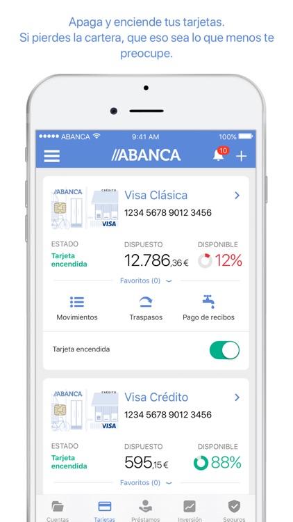 ABANCA - Mobile banking screenshot-4