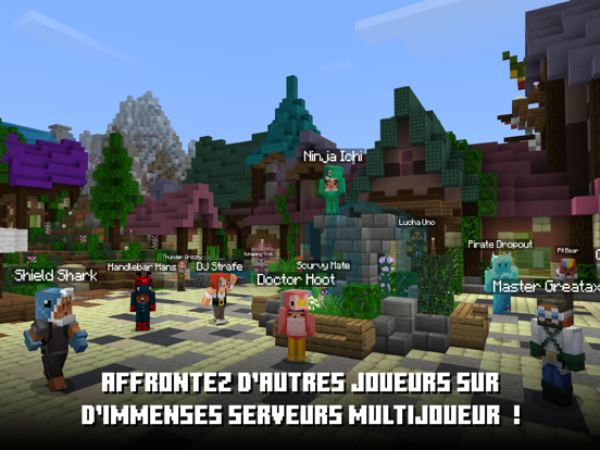 Minecraft iPad captures décran