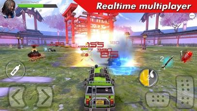 Overload: Car Shooting Racing screenshot 1