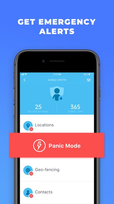 mSpy Lite Phone Tracker App Screenshot