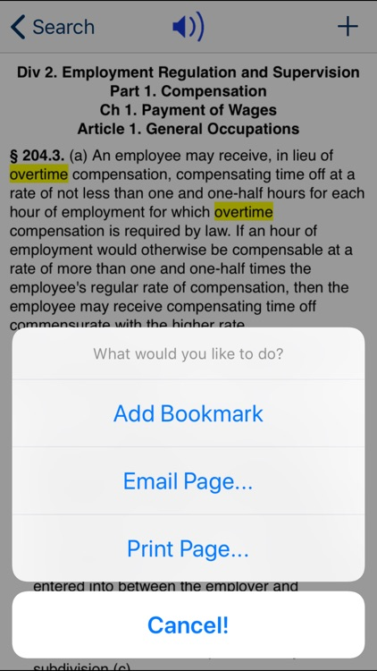 CA Labor Code 2020 screenshot-3