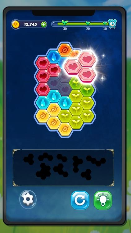 Block Hexa Puzzle : My Flower screenshot-4