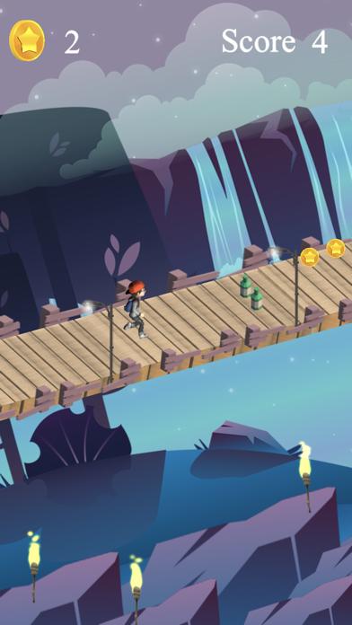 Risky Bridge Cross Runner screenshot four