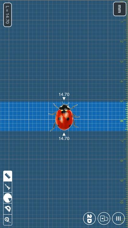 Millimeter Pro - screen ruler