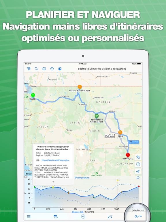 Screenshot #4 pour inRoute planificateur de route