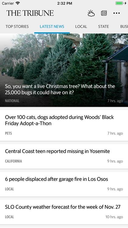 SLO Tribune News