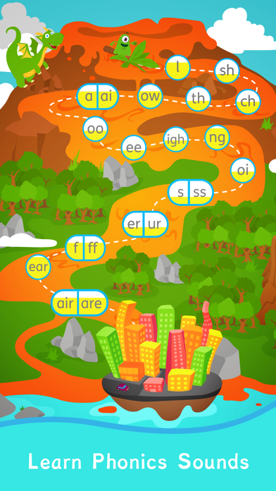 Read with Phonics Games screenshot one