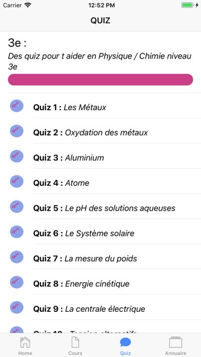 Physique 3ème screenshot 5