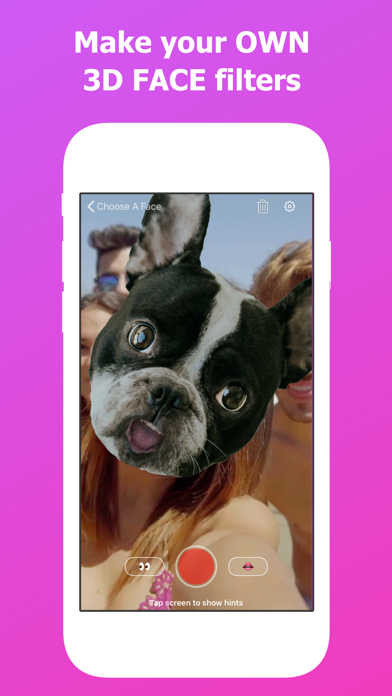 FaceReplaced - AR Filter Makerのおすすめ画像1