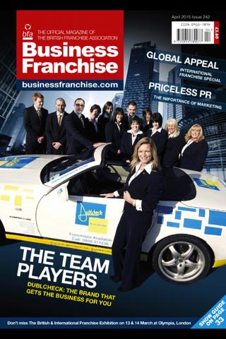 Business Franchise magazine - náhled
