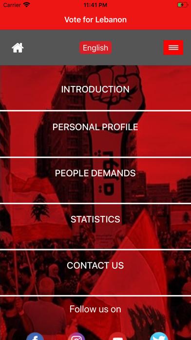 Vote For Lebanon screenshot 3